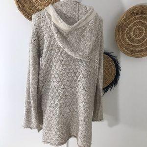 Free People Sweaters - Free People • Oversized Toggle Sweater